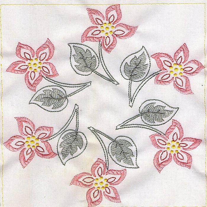 Floral Quilt 8-4