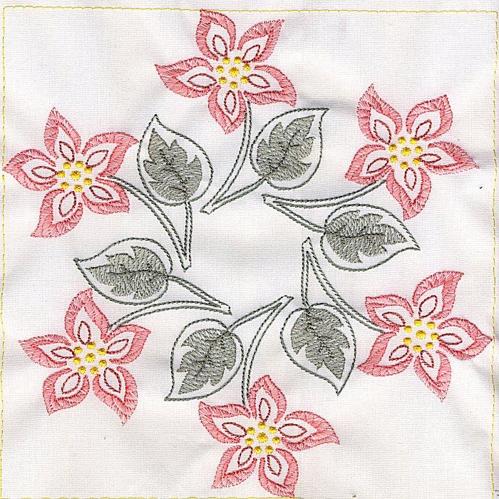 Floral Quilt 8-5