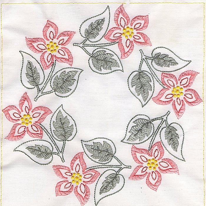 Floral Quilt 8-6