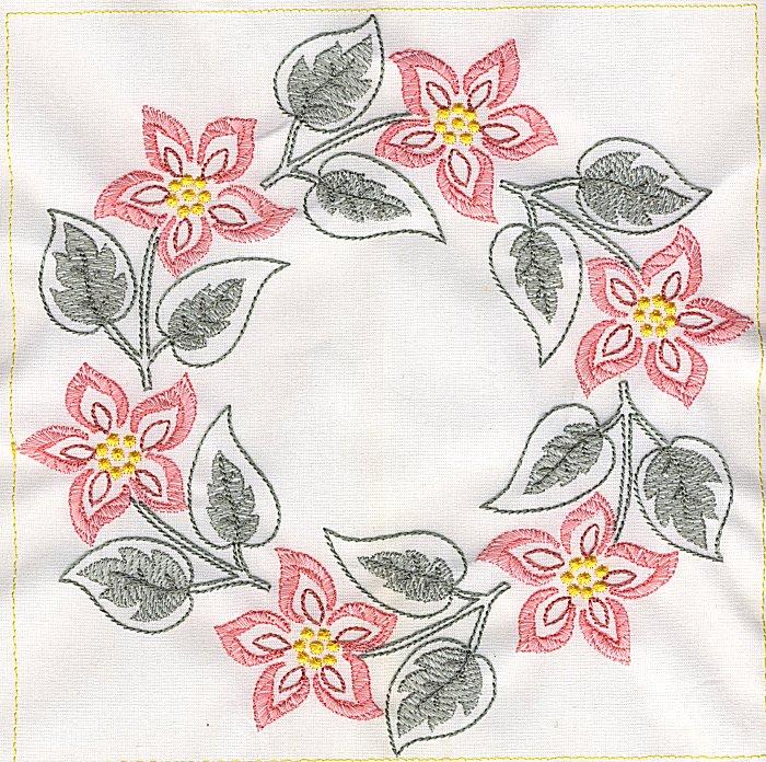 Floral Quilt 8-7