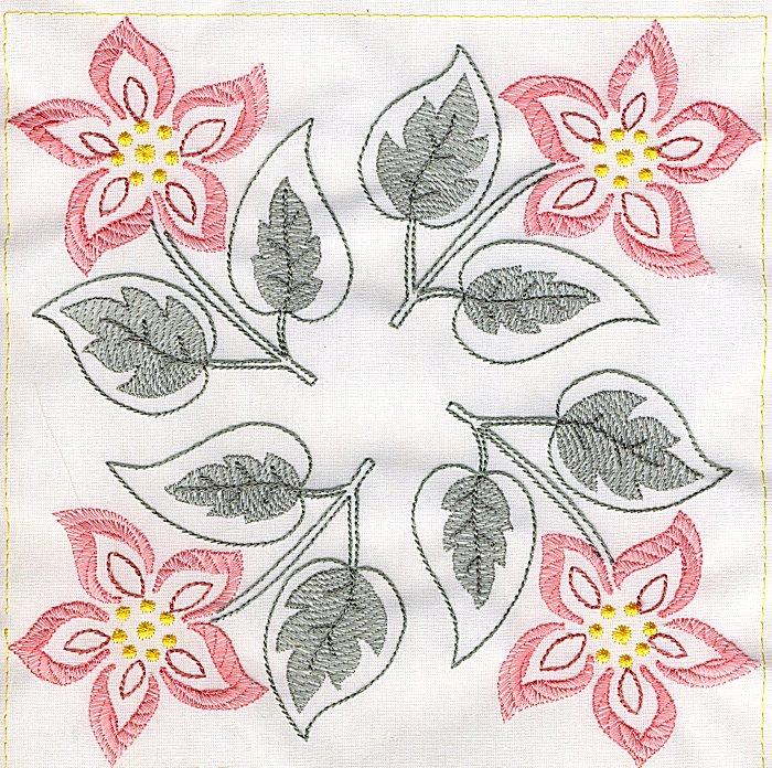 Floral Quilt 8-8