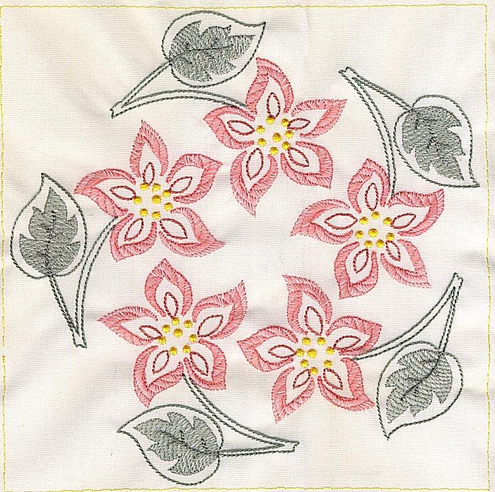 Floral Quilt 8-9