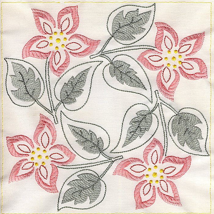 Floral Quilt 8-10