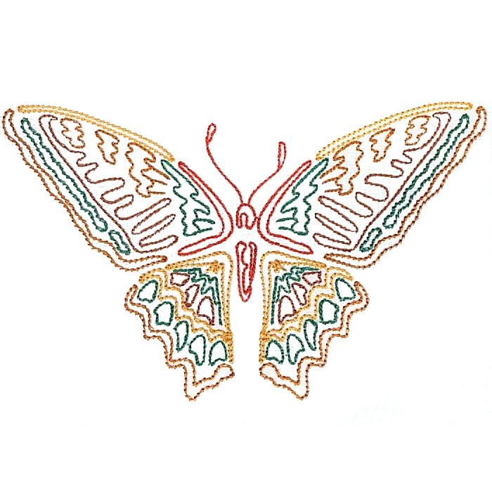 Colorwork Modular Butterflies-4