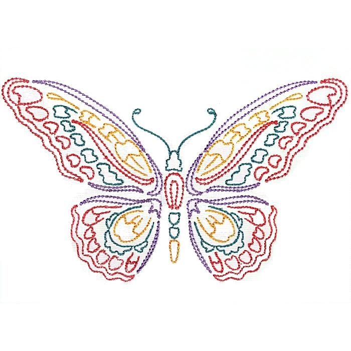 Colorwork Modular Butterflies-6