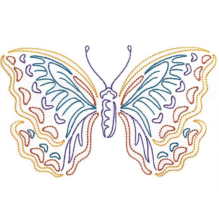 Colorwork Modular Butterflies-7