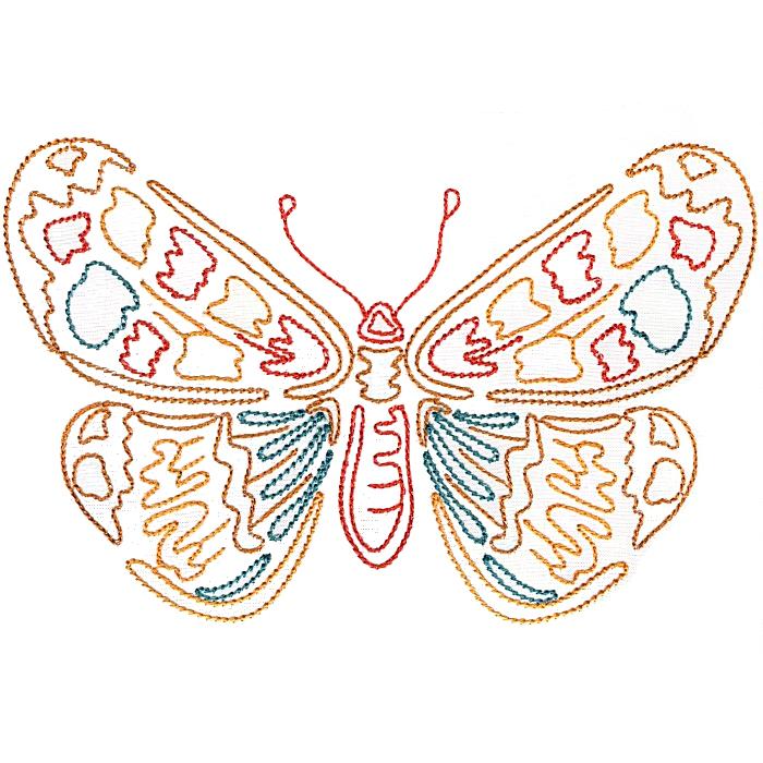 Colorwork Modular Butterflies-8