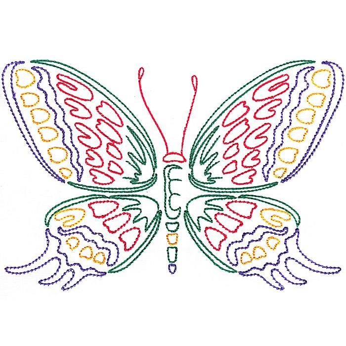 Colorwork Modular Butterflies-10