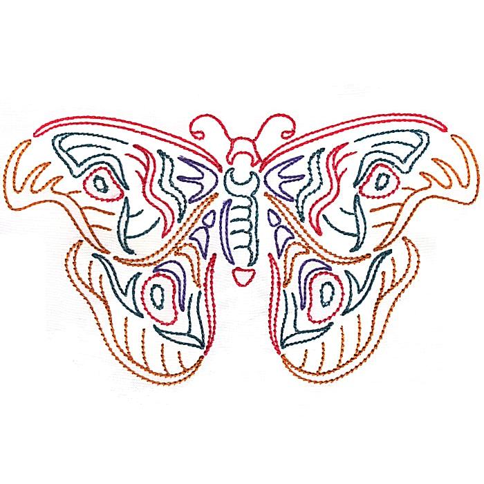 Colorwork Modular Butterflies-12