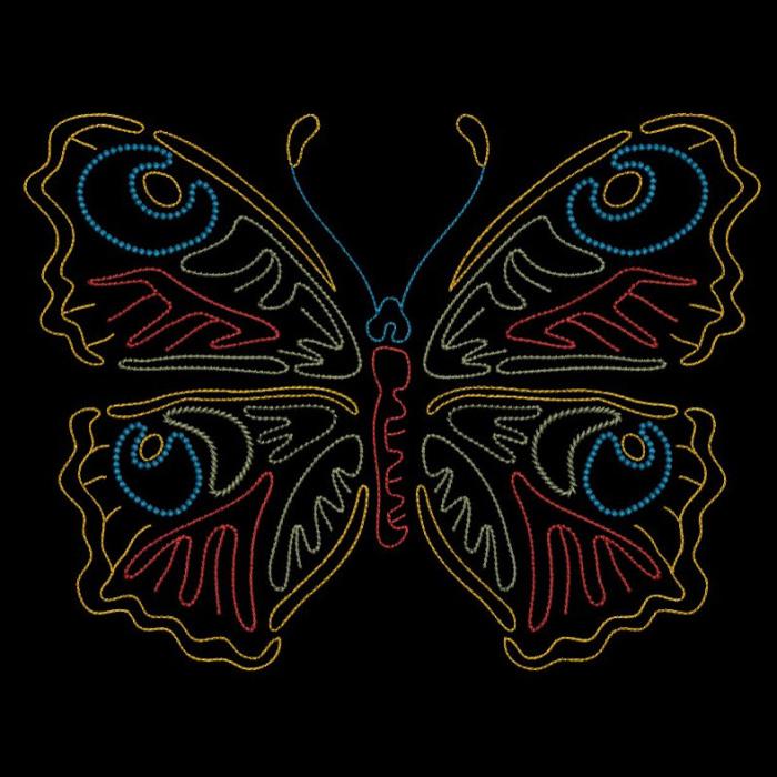 Colorwork Modular Butterflies-13