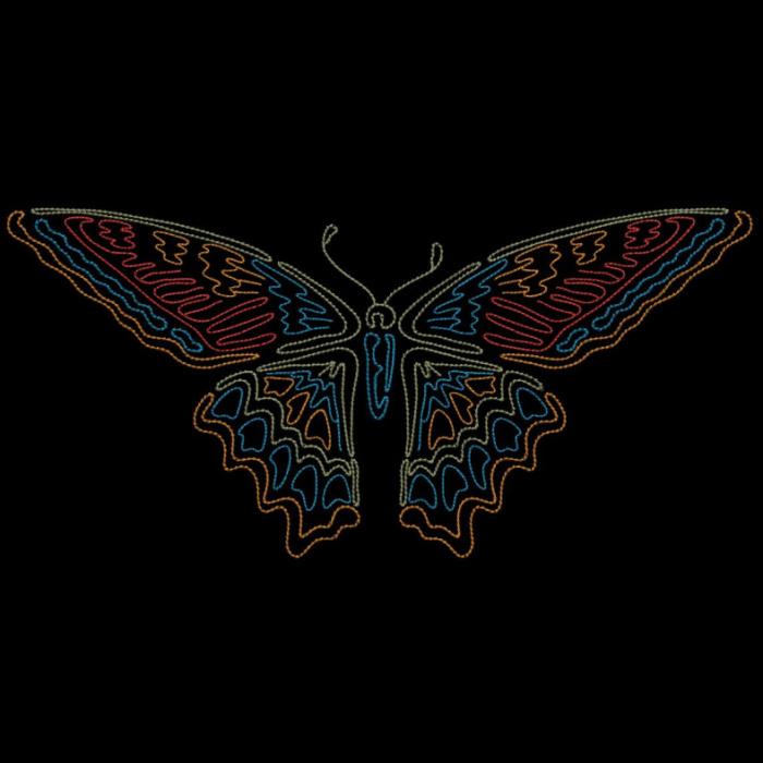 Colorwork Modular Butterflies-14