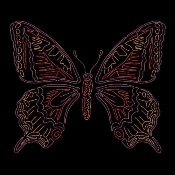 Colorwork Modular Butterflies-15