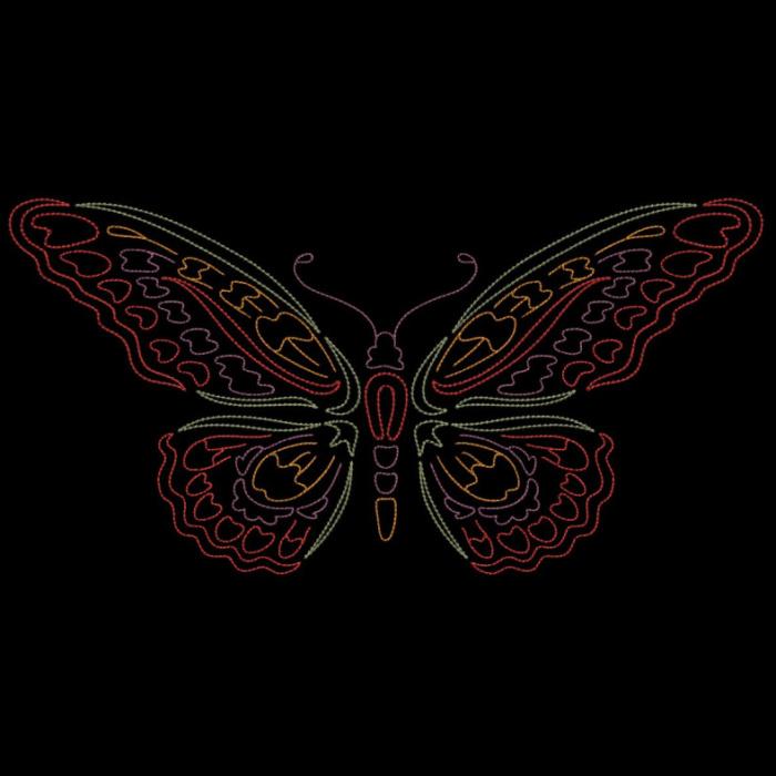 Colorwork Modular Butterflies-16