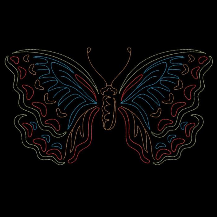 Colorwork Modular Butterflies-17