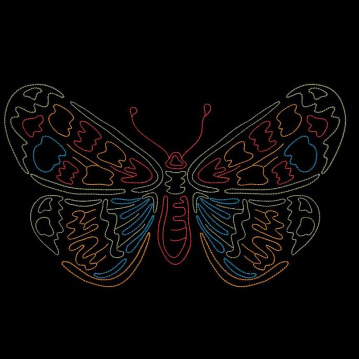 Colorwork Modular Butterflies-18