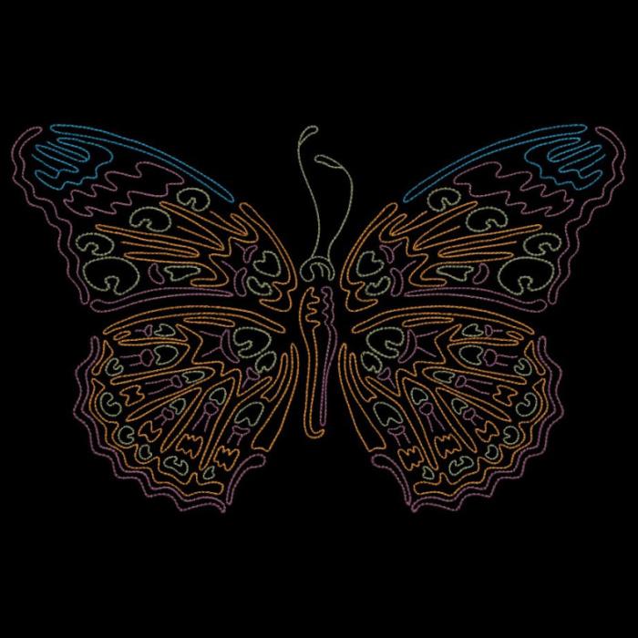 Colorwork Modular Butterflies-19