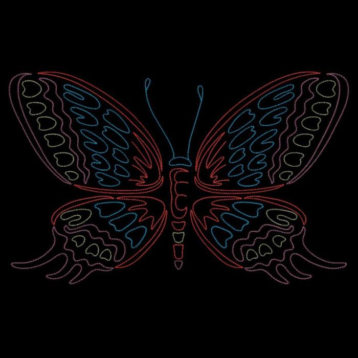 Colorwork Modular Butterflies-20