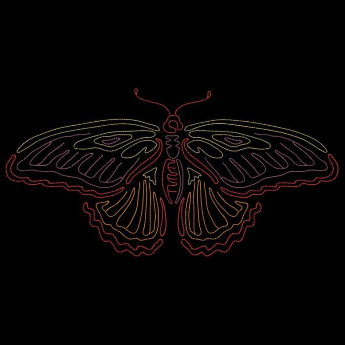Colorwork Modular Butterflies-21