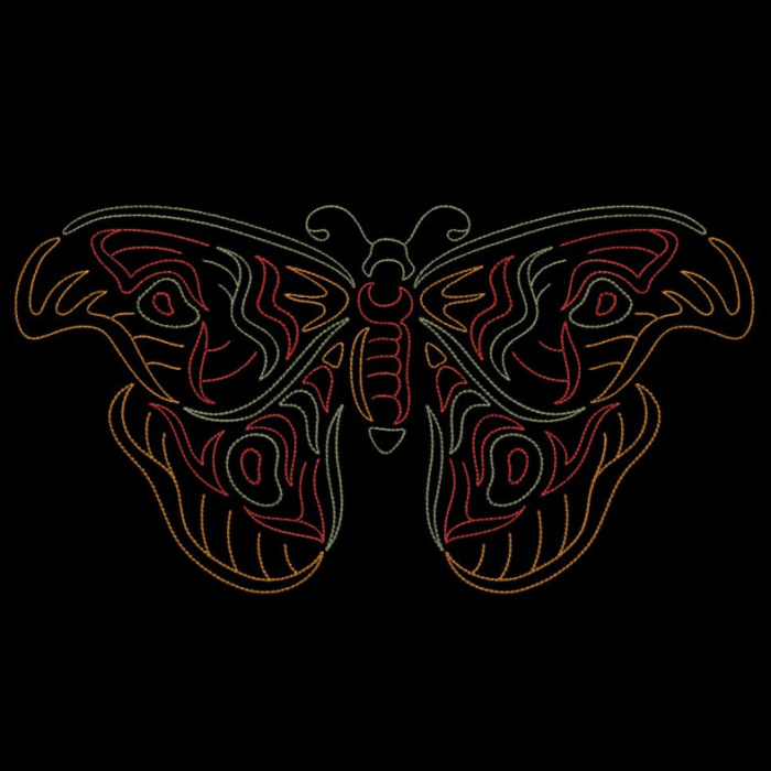 Colorwork Modular Butterflies-22