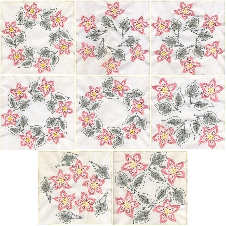 Floral Quilt 8