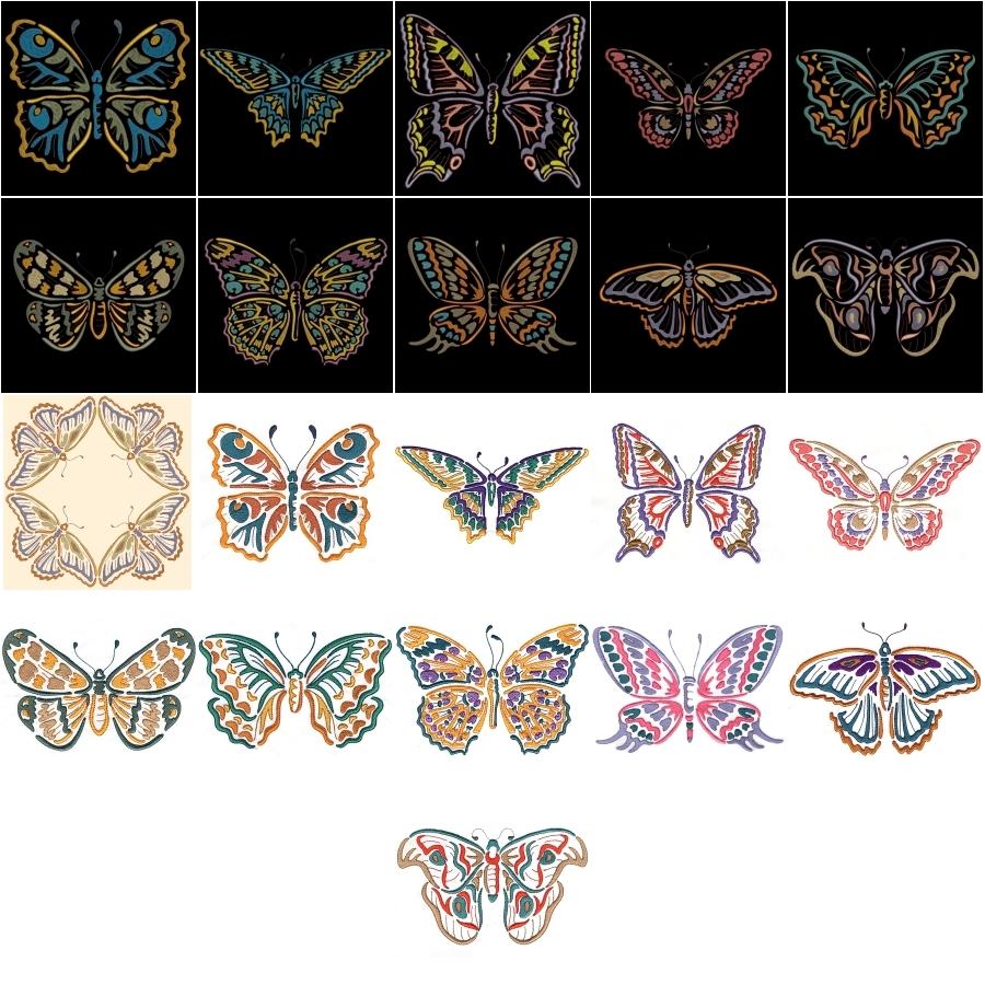 Modular Butterflies