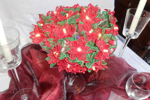 Poinsettia String Lights -5