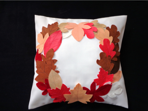 Fall Leaves Pillow -3