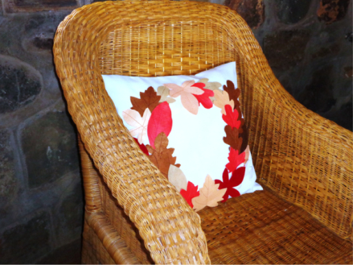Fall Leaves Pillow -4