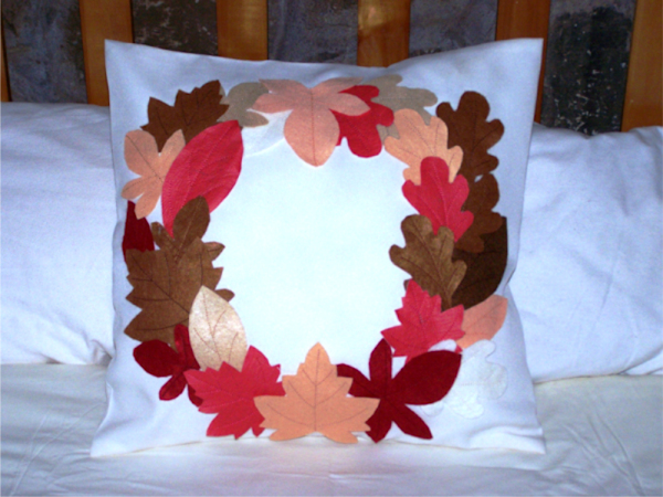 Fall Leaves Pillow -5