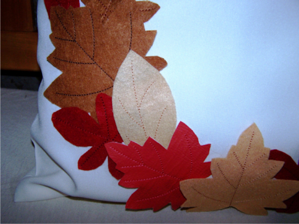 Fall Leaves Pillow -6