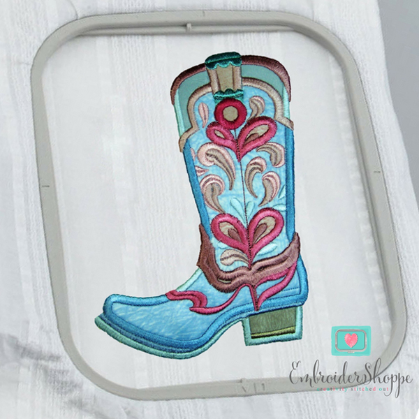 Drops of Jupiter Cowboy Boots Applique -6