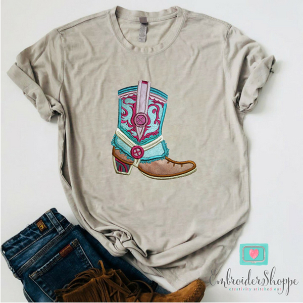 Gypsy Dreamer Boots Applique