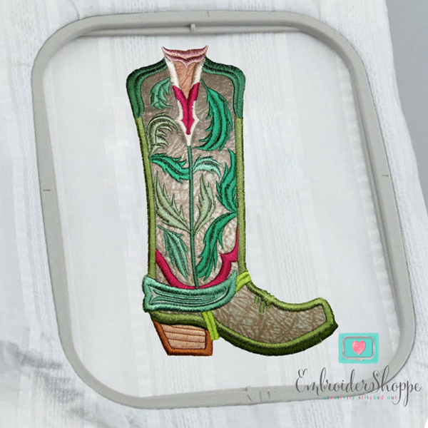 Maple Leaf Overlay Boots Applique -9