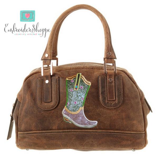 Plumsugar Daisy Boots Applique -3