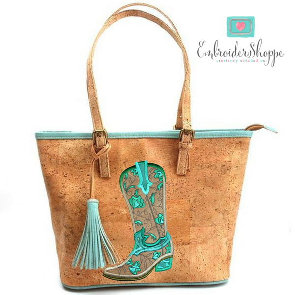 Robin Cognac and Turquoise Foliage -10