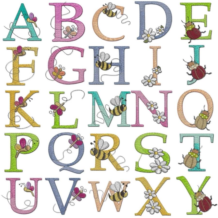 Bugs Life Alphabet