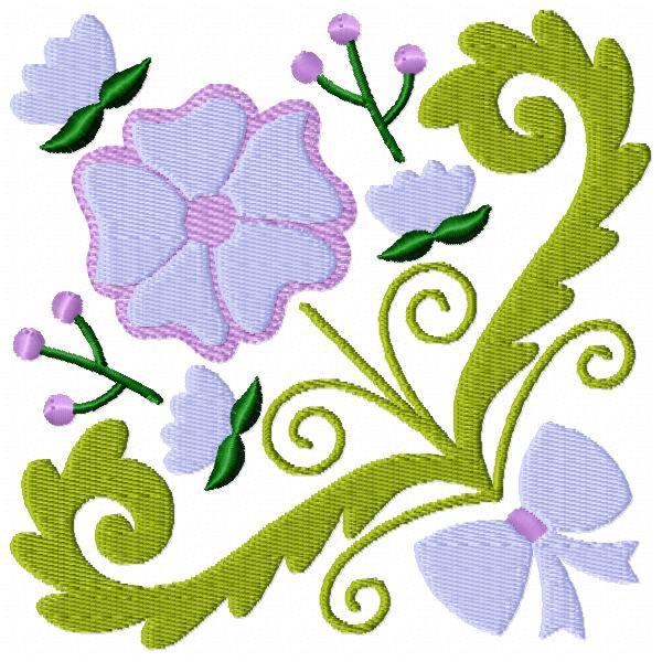 Floral Square Bouquet