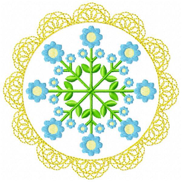Floral Lace Circles-6
