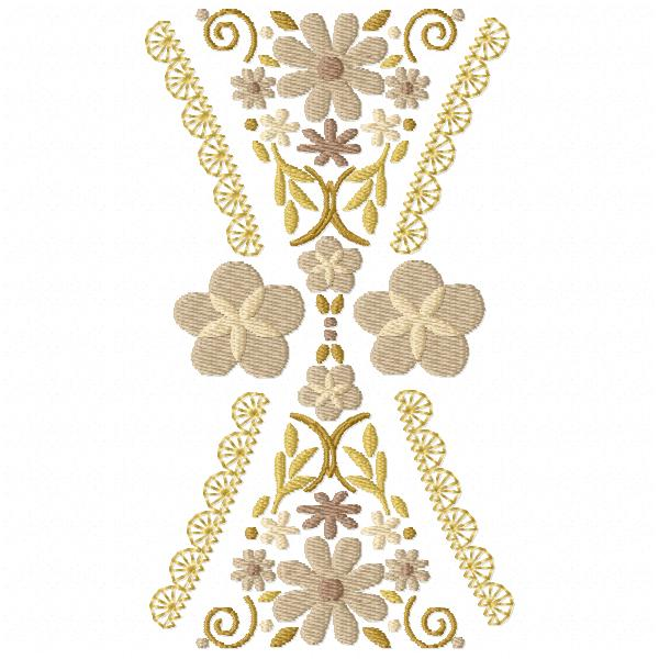 Hourglass Floral Bunting-3