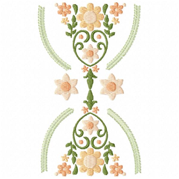 Hourglass Floral Bunting-5