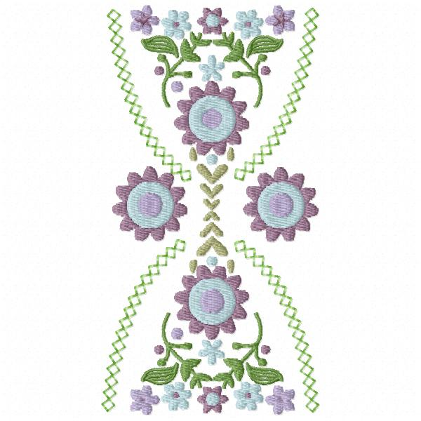 Hourglass Floral Bunting-6