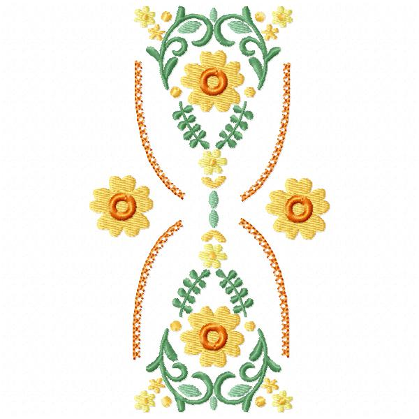 Hourglass Floral Bunting-8