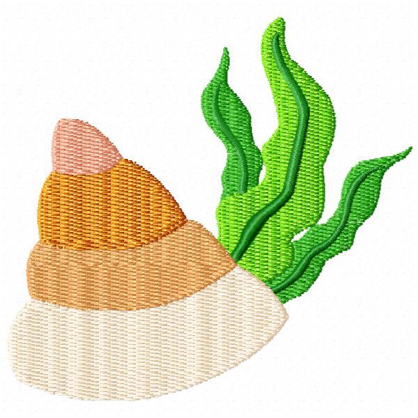 Seaweed and Shells-4