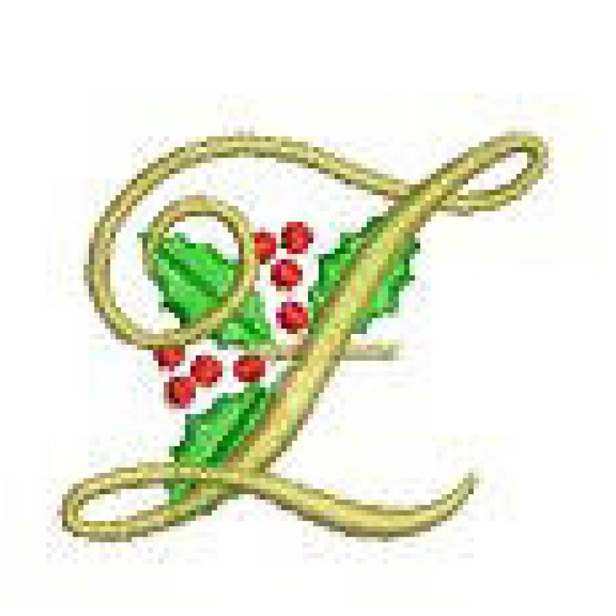 Christmas Cheer Monograms