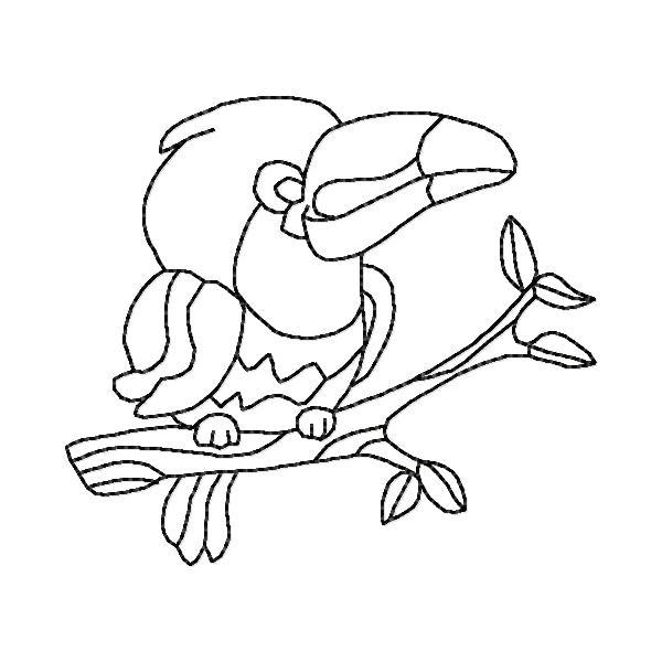 A Little Birdie Told Me So BW