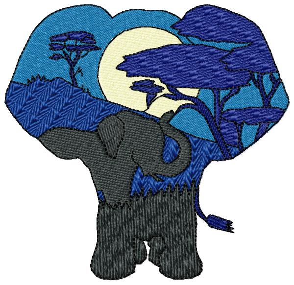 An African Silhouette