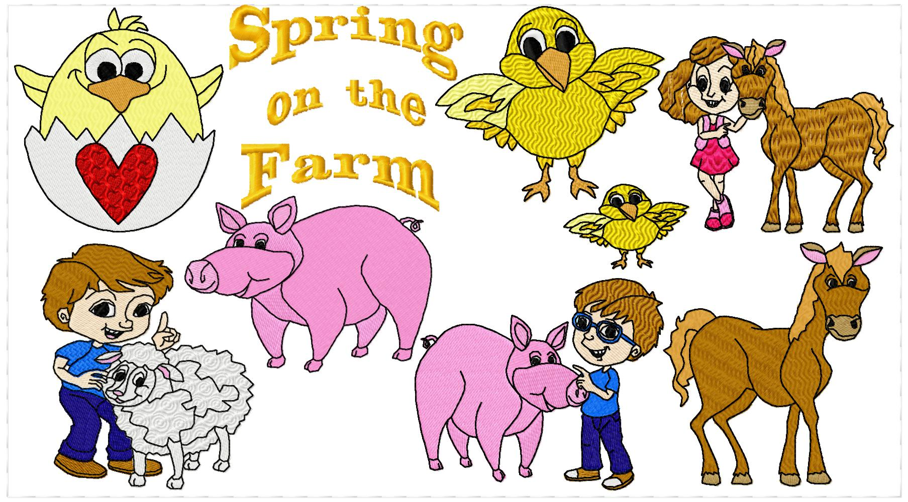 Springtime on the Farm-4