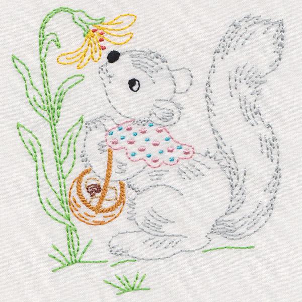 Vintage Garden Animals & Friends-3