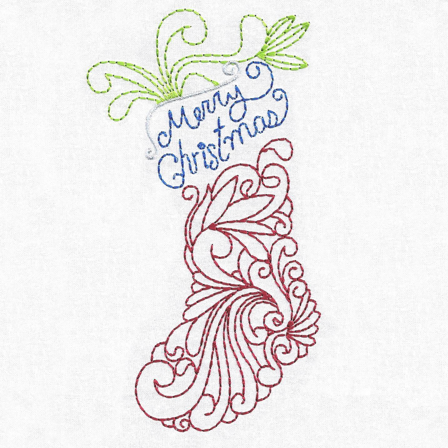 Swirly Christmas -6