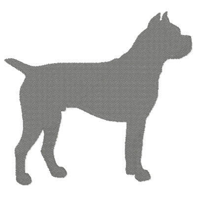 Silhouette Dogs 1-12